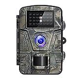 Victure Wildkamera mit Bewegungsmelder Nachtsicht 16MP 1080P Full HD Wildtierkamera mit Infrarot No...