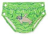 Playshoes Baby-Jungen UV-Schutz Windelhose Robbe zum Knöpfen Schwimmwindel, Blau (Blau/Grün 791),...