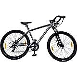 Galano Crossrad 29 Zoll Fitnessrad Fahrrad Crossbike Road Cross Rennrad Rad (grau/schwarz, 48 cm)