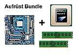 Aufrüst Bundle - Gigabyte MA78LMT-US2H + Phenom II X6 1055T + 4GB RAM #134268