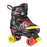 Hikole Rollschuhe fr Kinder Roller Skates fr Anfnger grenverstellbare (Gre 31-38) ABEC 7, Bequem und...