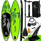 KESSER® Aufblasbare SUP Board Set Stand Up Paddle Board | 320x76x15cm 10.6' | Premium Surfboard...