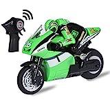 Top race 4-Kanal-RC-Fernbedienung Motorrad mit 2 Rädern mit eingebautem Gyroskop, Maßstab 1:20,...