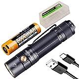 Fenix E35 V3.0 3000 Lumen USB-C wiederaufladbare LED-Taschenlampe mit 5000 mAh Akku und EdisonBright...