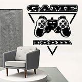 LKJHGU Mode Vinyl Wandaufkleber Spiel | Wohnzimmer Schlafzimmer Sofa Hintergrund TV Wand Hintergrund...