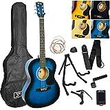 3rd Avenue Akustikgitarren-Set Premium Blau (Blue Burst)
