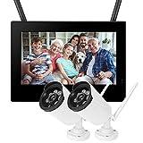 LXYPLM Überwachungskamera HD Kamera 10in Outdoor-Überwachungskamera 1,3MP HD Drahtloser...