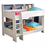 Möbel Akut Etagenbett Tam Tam Hochbett Kinderzimmer Doppelstockbett Rückwand blau oder pink