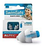 Alpine SwimSafe Gehörschutz Ohrstöpsel - wasserdichte Ohrenstöpsel zum Schwimmen – Halten...