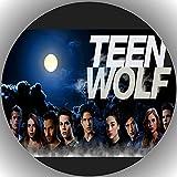 Fondant Tortenaufleger Tortenbild Geburtstag kompatibel mit Teen Wolf K 10