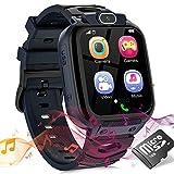 Smartwatch Kinder Uhr Telefon Smartwatches für Kinder Mädchen Jungen mit Musik Player Spiel Kamera...