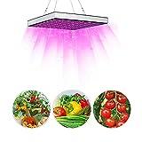 Led Pflanzenlampe 45W LED Grow Lampe, Vollspektrum Grow Light mit 225 LEDs 6-Band pflanzenlicht IR...