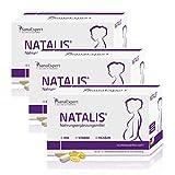 SanaExpert Natalis Vitamine für die Schwangerschaft mit 700 µg DHA Omega-3 Folsäure Eisen, 90...