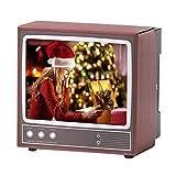 feeilty Retro-TV-Form Handyhalter-Retro-TV-Telefonhalter Telefonständer Telefon Bildschirm Lupe...