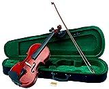 Classic Cantabile VP-100 Violinenset 4/4 (Einsteiger/Schülerinstrument, Geige, Boden & Zargen aus...