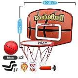 Indoor-Basketballständer, wandmontiertes Basketballnetz, hängendes Basketballbrett für den...