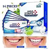 Zahnaufhellung, Teeth Whitening Strips, 28 White Stripes mit Advanced No Slip Technology Teeth...
