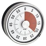 TFA Dostmann Analoger Timer Puck, 38.1028.10, Eieruhr, Küchentimer, mechanisch, zum Aufdrehen,...