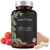 Bio Vitamin C (200 Kapseln) - Vergleichssieger 2019* - natürlich Bio zertifiziertes Acerola Extrakt...