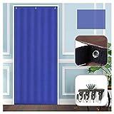 GuoWei Winter Blau Tür Vorhang Eingang Panel Blockout Draussen Kalt Schutz Drinnen Wärme Thermisch...
