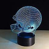 American Football Helm licht nachtlicht Schlafzimmer Dekoration Farbe wassertropfen Transport Sport...