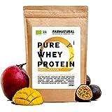 BIO WHEY Protein-Pulver Mango [aus Deutschland] ohne Soja - Hochwertige Bio Eiweiß-Shakes » 100%...