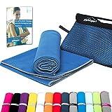 Mikrofaser Handtuch Set - Microfaser Handtücher für Sauna, Fitness, Sport I Strandtuch,...