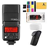 Godox TT350S TTL 2.4G HSS 1 / 8000s GN36 Kamera Flash Speedlite für Sony Kompatibel für Sony...