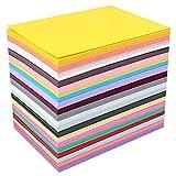 50 Blatt gemischte Pastellpapier Papier Papier Stärke 230 g/m² 3D Druck Zeichenpapier A4 (297 mm x...