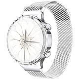 Phipuds Smartwatch Damen, elegant und hochwertig, Edelstahl, IP67, wasserdicht, Smartwatch,...