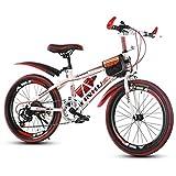 QZMJJ Off-Road Radfahren, Mountainbike-Speed Kinder Middle School Students Erwachsene Fahrrad...
