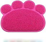 Heyaokun rutschfeste Tischset Haustier Hund Katzenfutter Wasserschale Schüssel Matte, Essen Wasser...