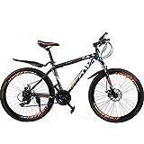 BNMKL 20/22/24/26Inch Mountainbike 21Gang Fahrrad, Kinderfahrräder Mit Federgabel Und...