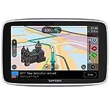 TomTom GO Premium Pkw-Navi (5 Zoll mit Updates über Wi-Fi, Lebenslang Traffic via SIM-Karte,...