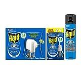 Raid Kombi-Pack (Insekten-Spray und Mücken-Stecker) gegen fliegende Insekten im Innenbereich, 3er...