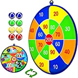 COOPCTE Sports Games for Kids, Dart Board for Kids with 8 Sticky Balls, Safe & Classic Toy Gift for...