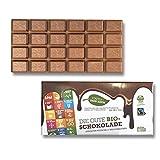 Die Gute Bio Schokolade 13 Tafeln Schokoladentafel Fairtrade Großpackung ( 13 x 100g )