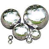 Rapid Teck® Edelstahl Schwimmkugel Silber Hochglanz poliert Durchmesser 25cm polierte Silberkugel...