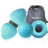 PROIRON Massage Ball 3er Set Silikon Selbstmassage, Peanut Duo Massagebälle und Lacrosse...
