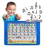 Boxiki kids Englisch Lern-Tablet, lustiges Tablet für Kinder mit 6 Lernspielen für Kleinkinder...