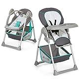 Hauck Sit'n Relax Newborn Set – Neugeborenen Aufsatz und Kinderhochstuhl ab Geburt, mit...