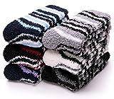 Damen Mädchen Socken, flauschig, warm, weich - - Medium