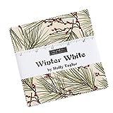 Moda Charm-Set Winter Weiß