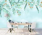 Fototapete Handgezeichnete Obstpflanze 400x280cm 3XL Vliestapete Wandtapete Wandbild Wand...