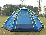 AOGUHN Zelt - Outdoor 5-8 Personen automatische Camping Zelte Doppelschicht 6 Familien Camping...
