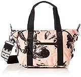 Kipling Damen Art Mini Taschen mit Tragegriff, Koralle/Blume, Einheitsgröße
