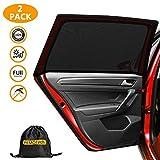 PEMOTech Sonnenschutz Auto (2 Stück), Sonnenschutz Auto Baby/Kinder Doppelseitiges UV Schutz...