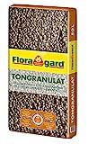 Floragard Blähton Tongranulat zur Drainage - Hydrokultursubstrat - für Pflanzkästen, Kübel oder...
