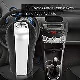 NO LOGO Ersatzteile 1pc Universal-5 Geschwindigkeit Gang-Stick Knob Schaltknauf for Toyota Corolla...