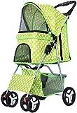 Pet Trolley, Pet Dog Kinderwagen Hundebuggy für unterwegs, Travel Vet Kinderwagen Behinderten...